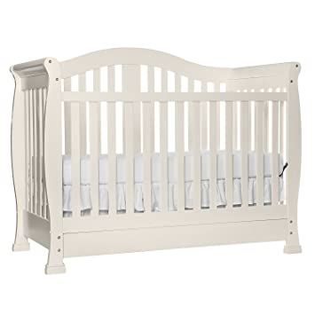 Ordinaire Dream On Me Addison 5 In 1 Convertible Crib With Storage, French White