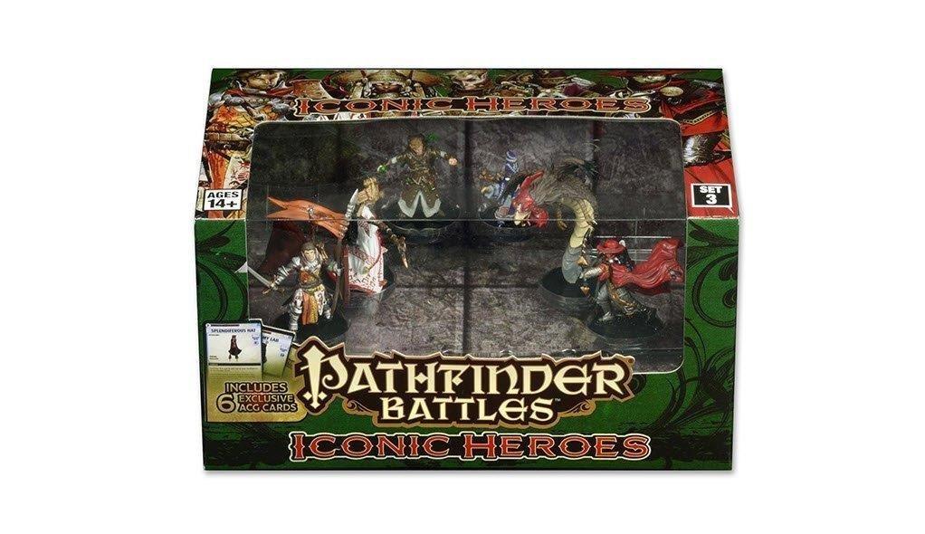Pathfinder Battles: Iconic Heroes Set 3