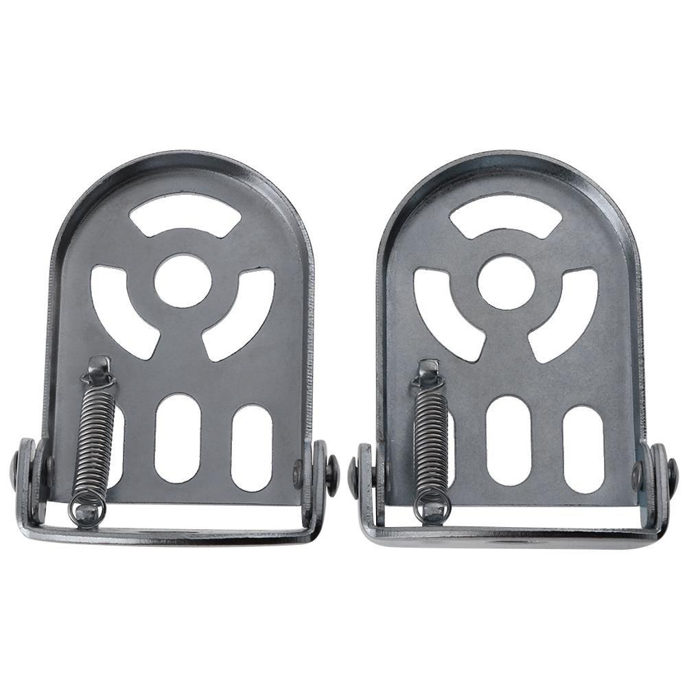 Broadroot Pedales de reposapié s trasero para bicicleta de montañ a, de acero, pedales traseros de ciclismo y motocicleta