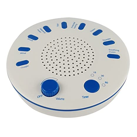 Onepeak HD Máquina de sonido natural 9 Máquina de ruido HD Terapia ...