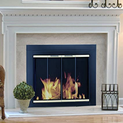 Amazon Pleasant Hearth Arrington Fireplace Screen And Bi Fold