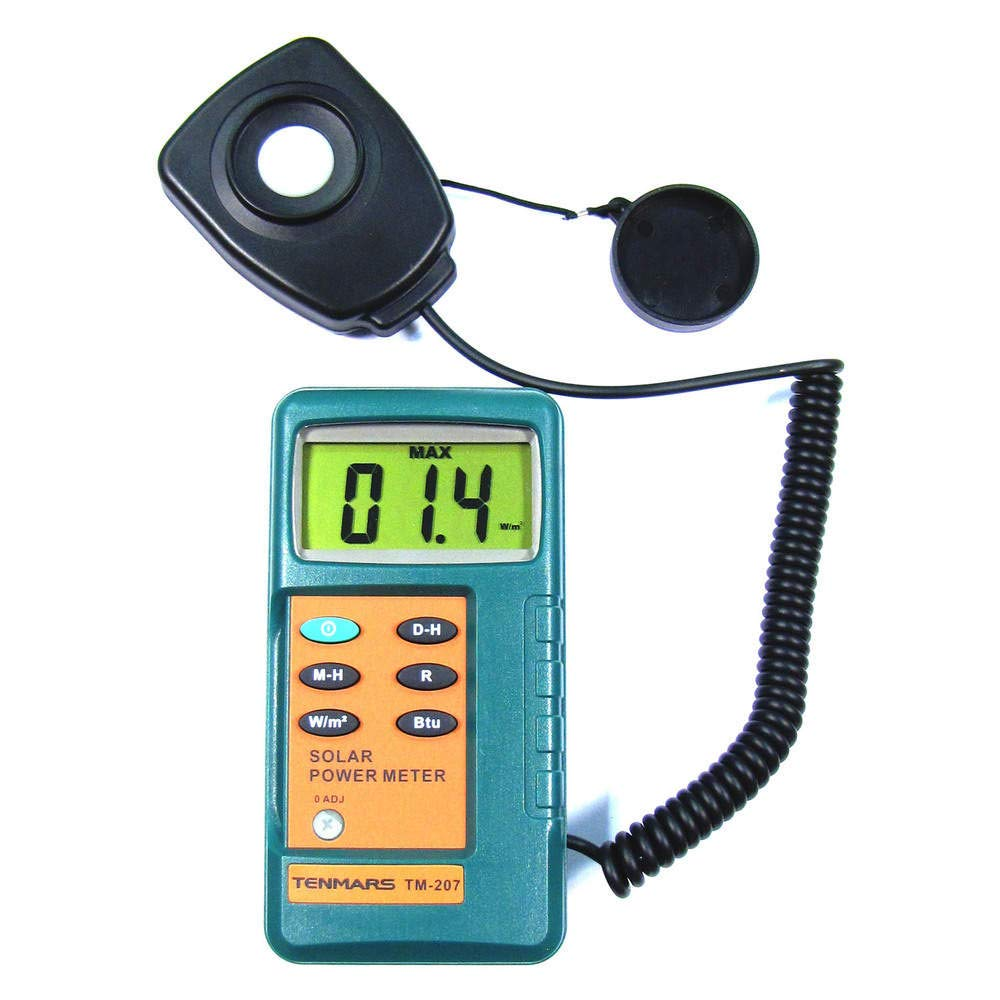 Cablematic –  Solar radiation meter model TM-207 Cablematic.com PN26021411145115370
