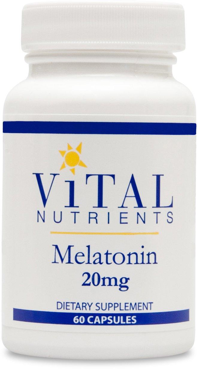 Amazon.com: Vital Nutrients - Melatonin 20 mg. - 60 Capsules: Health & Personal Care
