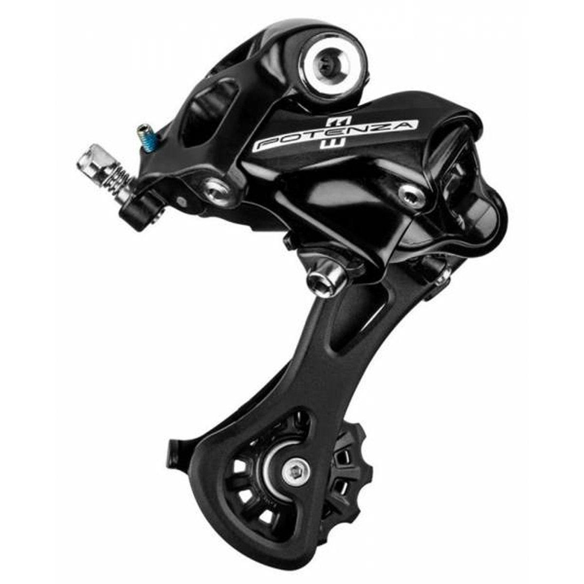 Campagnolo Potenza Ho rd18 11-speed背面自転車Derailleur B072ZZYWDQ M(ミドル)(RD18-POB1M)|ブラック ブラック M(ミドル)(RD18-POB1M)