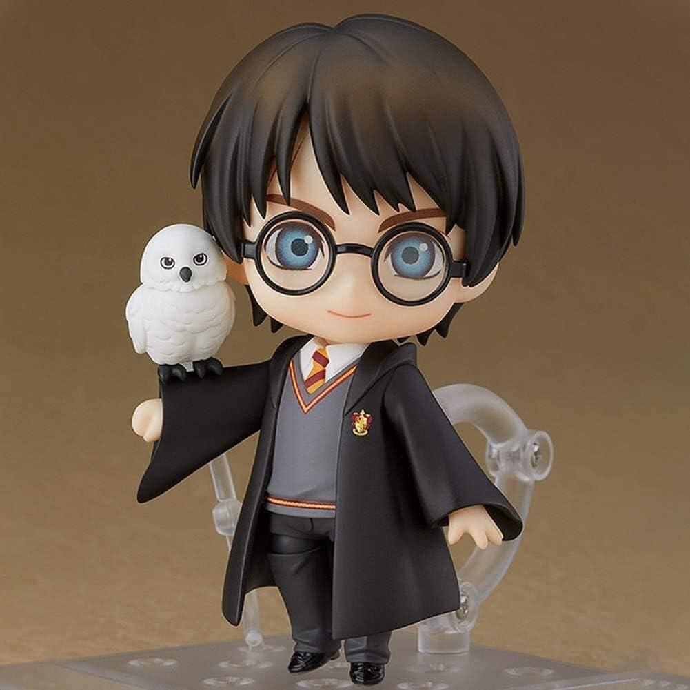 MFWJ Modelo del Animado de Magic Academy Toy Estatua Harry Acción de Marionetas Decoración Recuerdo/Coleccionable de Regalos/A-10 CM (Size : 10CM)