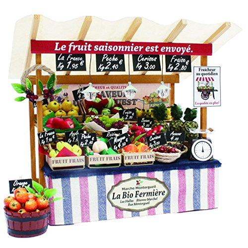 Billy Handmade Dollhouse Kit Paris The Marche Kit Paris The Fruit Shop 8843