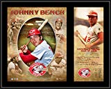 "Johnny Bench Cincinnati Reds 12"" x 15"" Hall of Fame Career Profile Sublimated Plaque - Fanatics Authentic Certified"