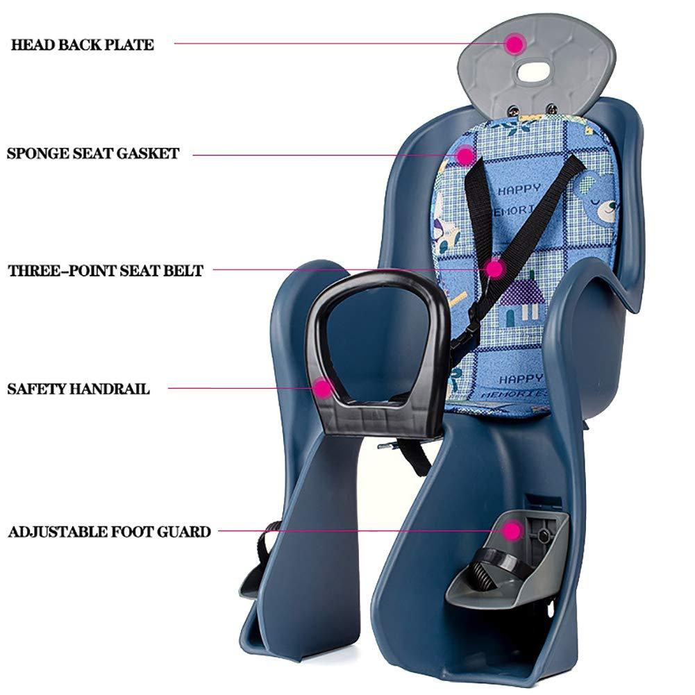 GSTARKL Asiento para niños en Bicicleta - Arnés de Seguridad para ...
