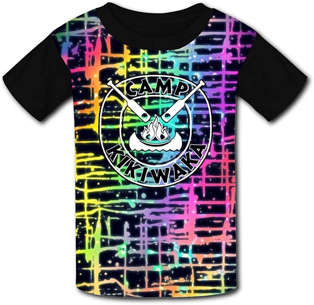 GCASST Camp Kikiwaka T Shirts for Teen Boys Girls Kids Graphic Printed Shirts Funny Short Sleeve Tee Tops XL