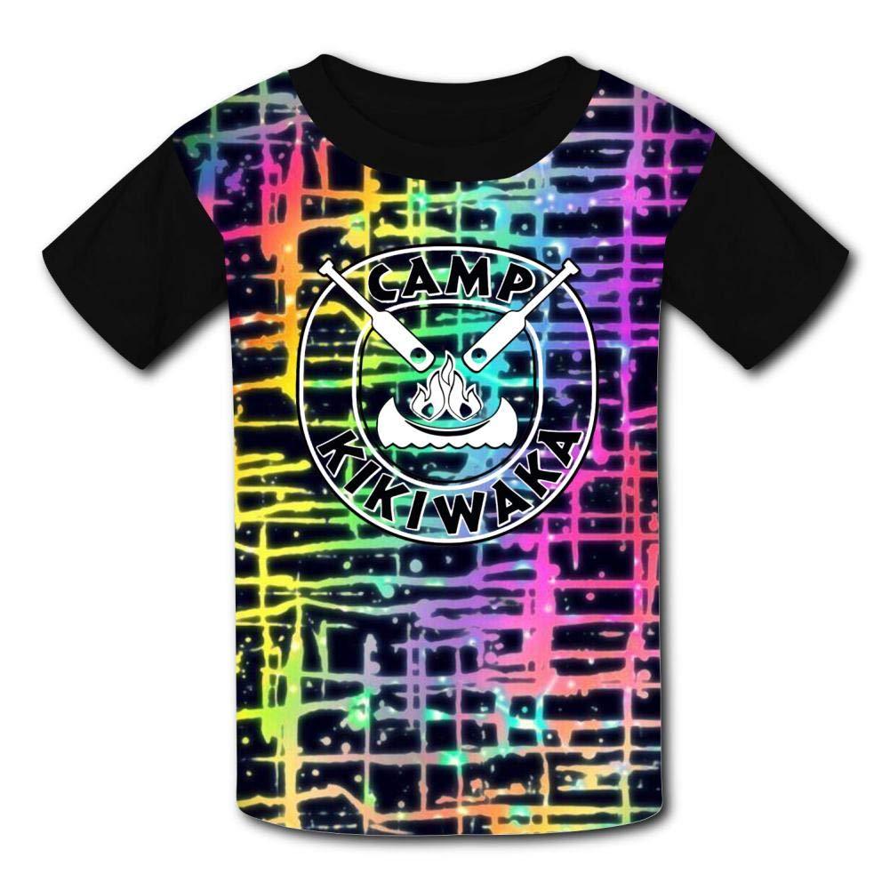 GCASST Camp Kikiwaka T Shirts for Teen Boys Girls Kids Graphic Printed Shirts Funny Short Sleeve Tee Tops S