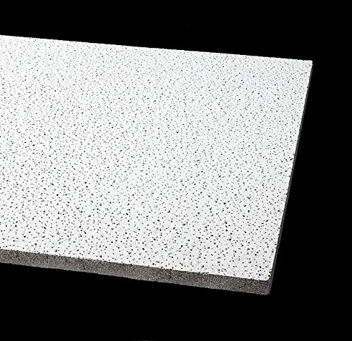 Acoustical Ceiling Tile 24''X24'' Thickness 5/8'', PK16