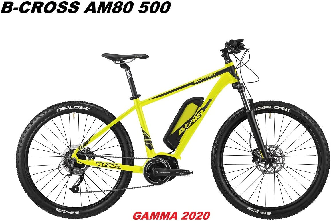 Atala - Bicicleta B-Cross AM80 500 Gamma 2020, Yellow Black Matt ...