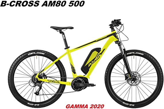 Atala - Bicicleta B-Cross AM80 500 Gamma 2020, Yellow Black Matt, 18