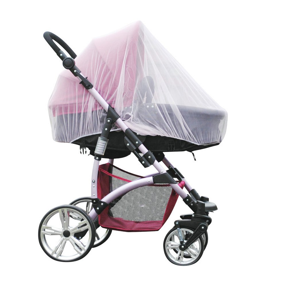 MAARYEE Baby Mosquito Net for Stroller Infant Carriers Car Seats Insect Netting Universal Size Pack of 2