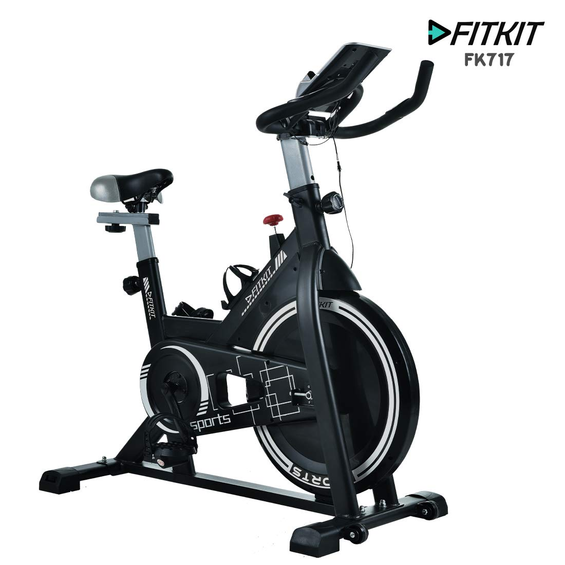 Fitkit FK717 Flywheel Spinner Exercise Bike