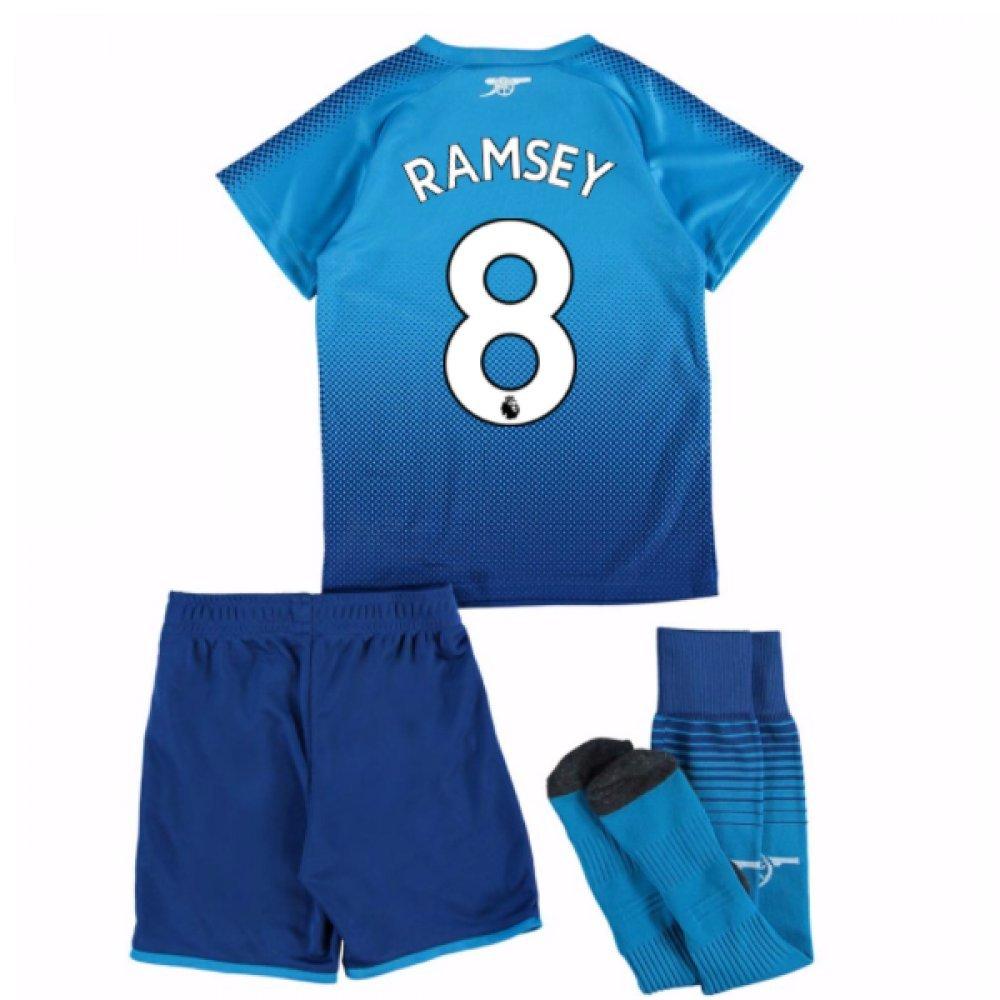 2017-18 Arsenal Away Mini Kit (Ramsey 8) B077PJYSRLSky 1-2 Years