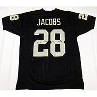 $245 » Josh Jacobs Autographed Las Vegas Oakland Raiders Custom Jersey W/Viva Las Vegas Beckett Witnessed - Autographed NFL Jerseys