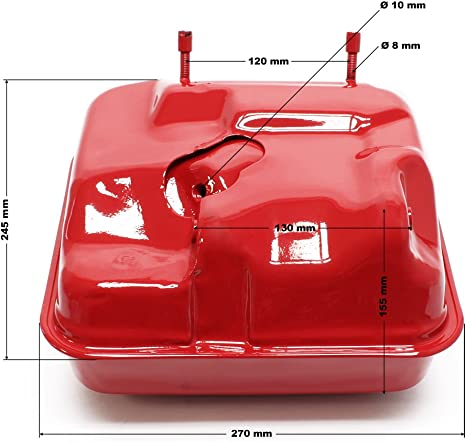Ersatzteil Für Benzinmotor 13 Ps Benzintank Rot Baumarkt