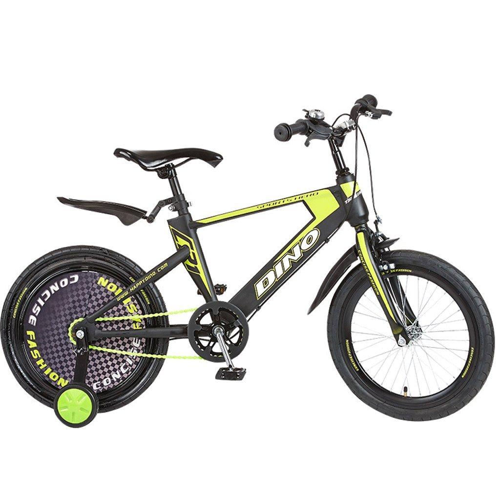 子供の自転車6-13歳の赤ちゃんのバイクのベビーカーの少女18インチの子供のマウンテンバイク (色 : 緑) B07D9YH8QX緑