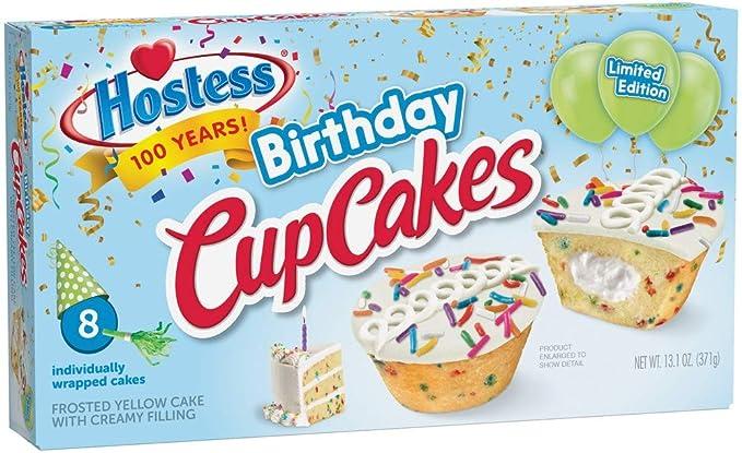 Enjoyable Hostess Birthday Cake Cupcake Limited Edition Amazon Com Grocery Personalised Birthday Cards Akebfashionlily Jamesorg