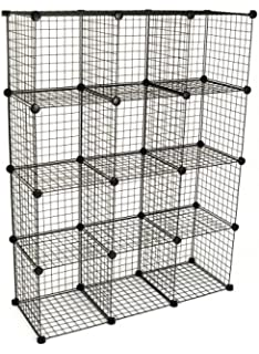 KC Store Fixtures 04120 Mini Grid Clothes Organizer, 3 Foot By 4 Foot