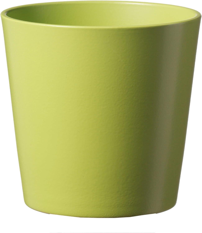 Arcilla Dallas Esprit Soendgen Keramik Maceta para Flores 14 x 14 x 13 cm Sonnengelb