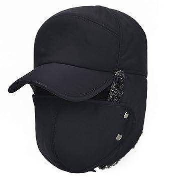 Gecheng Fashion - Protectores de oídos para hombre, gorros de ...