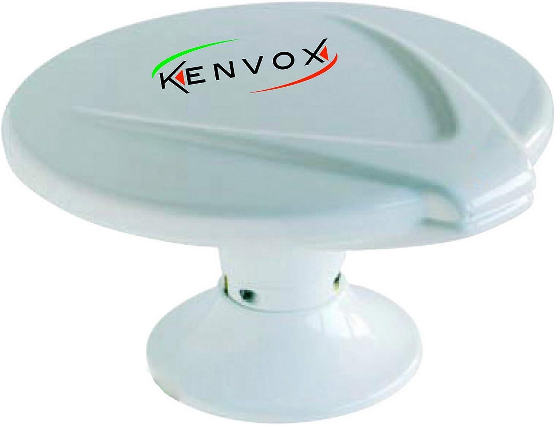Kenvox M-114001 Antena omnidireccional VHF&UHF Redonda RPS1