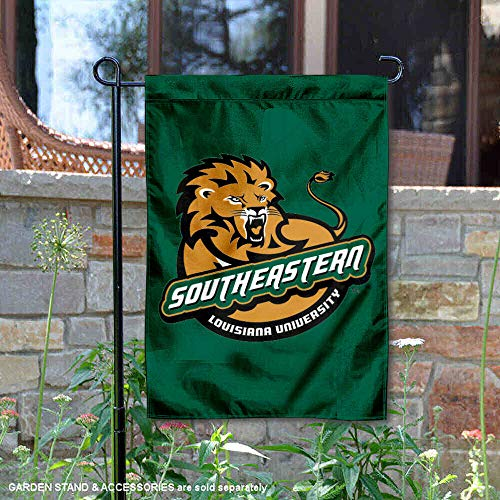 Louisiana University - SLU Lions Garden Flag and Yard Banner