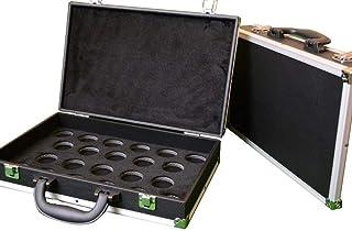 Cue & Case Man Boule de Billard Housse de Transport pour Taille complète 21/40,6cm Boules de Billard à partir de