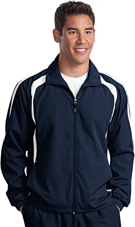 Big Mens Colorblock Raglan Jacket