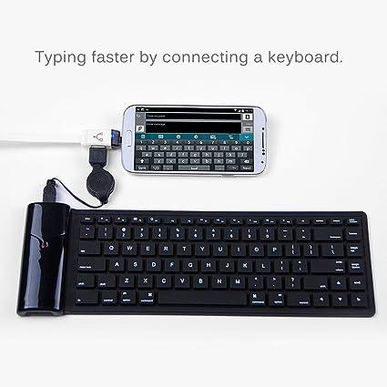 3 en 1 Cable de Carga OTG Datos Micro USB para Móviles Tablet Android Blanco: Amazon.es: Electrónica