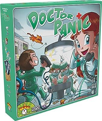 Repos Production Doctor Panic - Juego de Mesa: Amazon.es: Juguetes y juegos