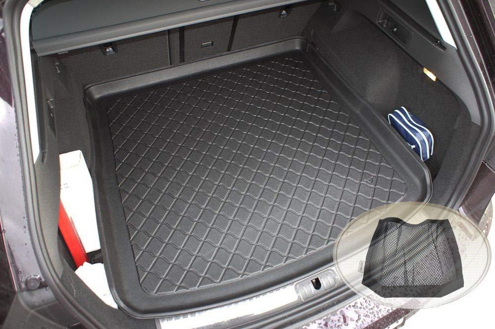 Klett-Organizer ZentimeX Z3108451 Gummierte Kofferraumwanne fahrzeugspezifisch Laderaumwanne, Kofferraummatte