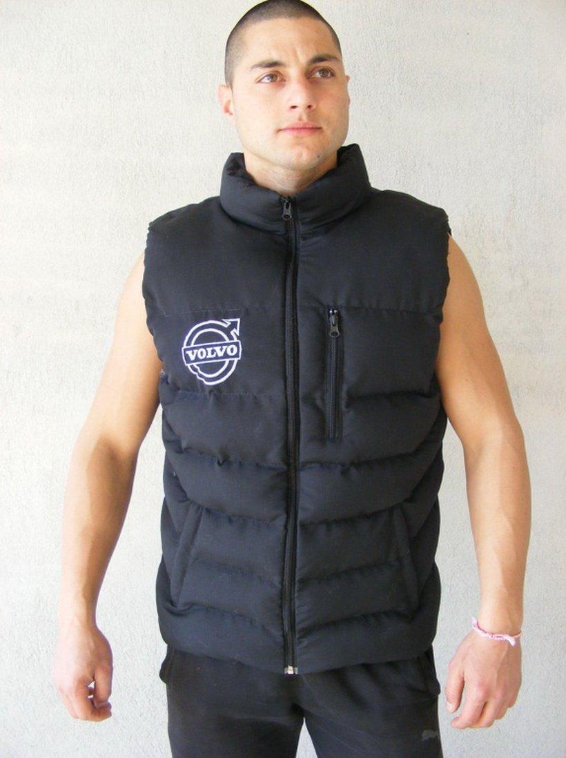 Chaleco sin mangas para hombre con logotipo bordado en la parte frontal y posterior, tamañ o M –  XXXL tamaño M -XXXL Other