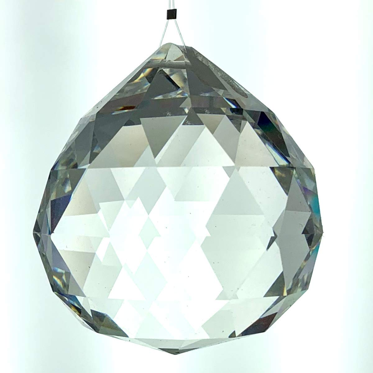 70mm Crystal Faceted Ball Leaded CR92400/70 2.75''