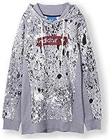 Adidas Men's AE3646 Streetwear Hoodie, Core Heather, L