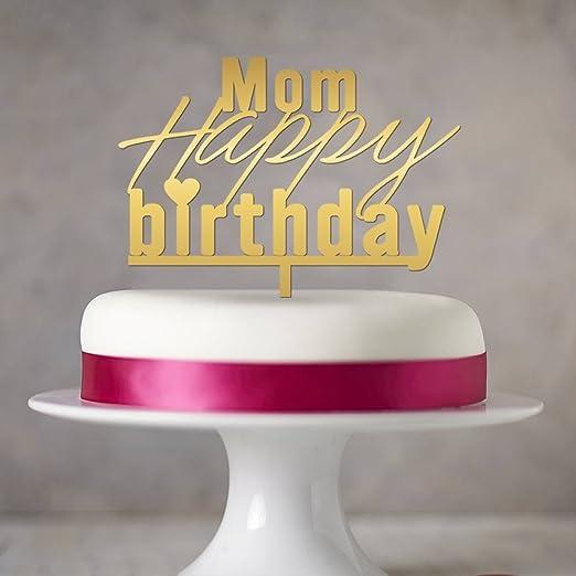 Decoración para tarta de cumpleaños, diseño de feliz ...