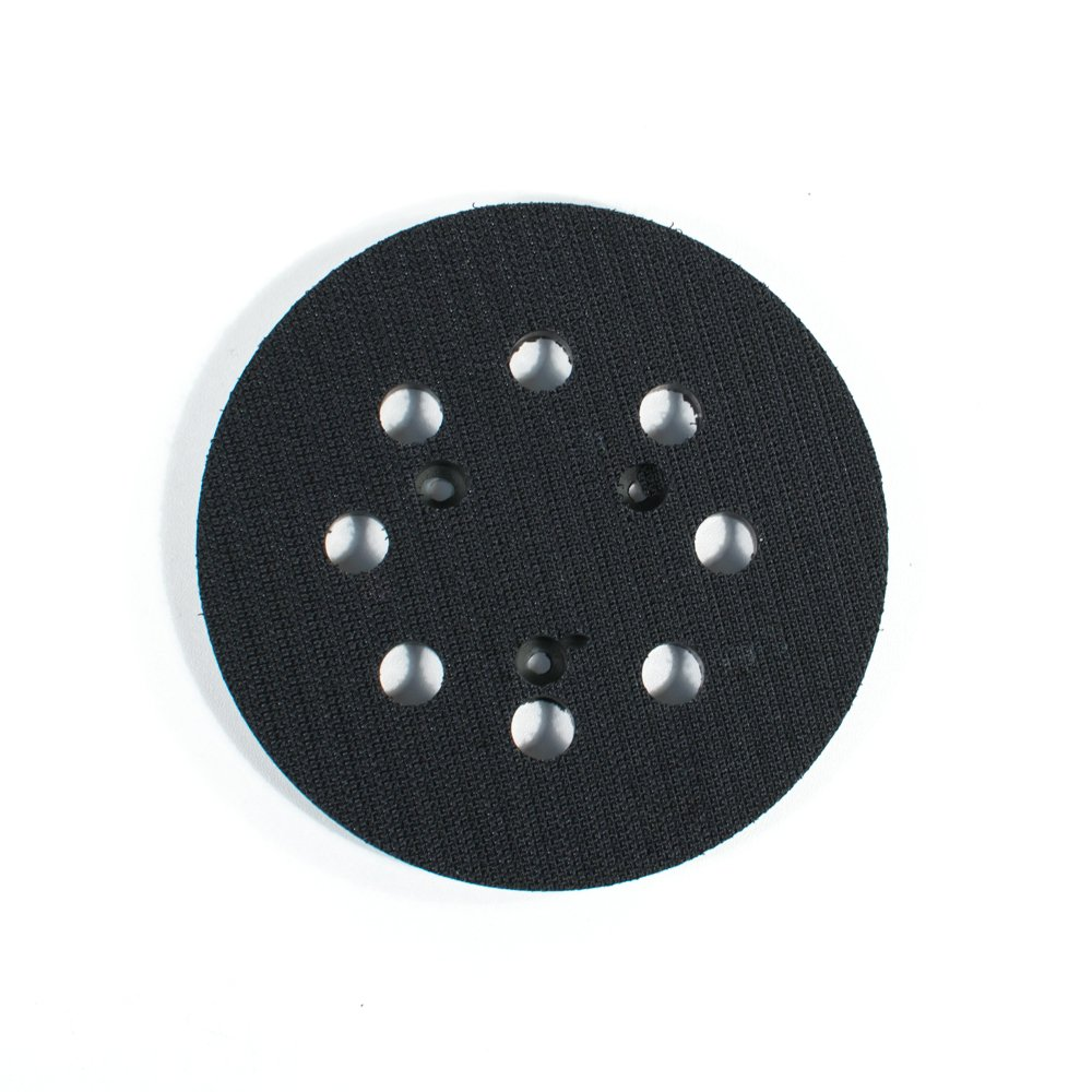 5'' - 8 Hole Backup Pad Hook and Loop for Electric Sanders (6)