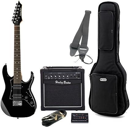 Guitarra eléctrica para niños Kit completo de amplificador, bolsa ...