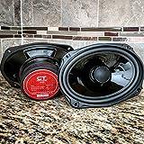 CT Sounds Strato 6x9 Inch Car Audio Coax Door Speaker Set - Pair