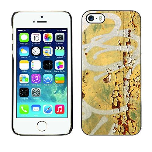 Premio Sottile Slim Cassa Custodia Case Cover Shell // V00002236 Détail Graffiti // Apple iPhone 5 5S 5G