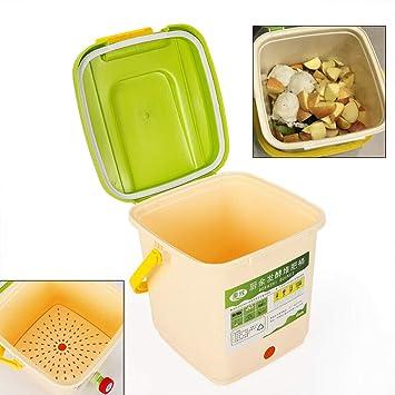 DiLiBee 9L Jardín Basurero Composter Reciclaje ecológico Hojas de ...
