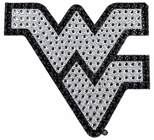 NCAA West Virginia Bling Emblem, One Size, One - Wv Mall