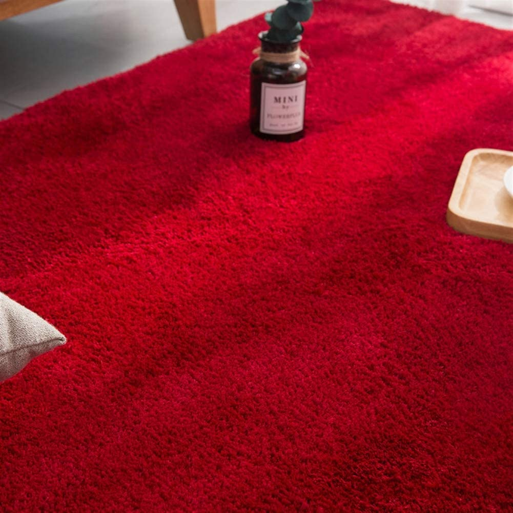 Liveinu Gradient Shaggy Alfombras Salon Pelo Largo con Respaldo Antideslizante Rect/ángulo Modernas Alfombra de Peluche Sal/ón Modernas para Decoraci/ón 150x200cm Rosa Violeta