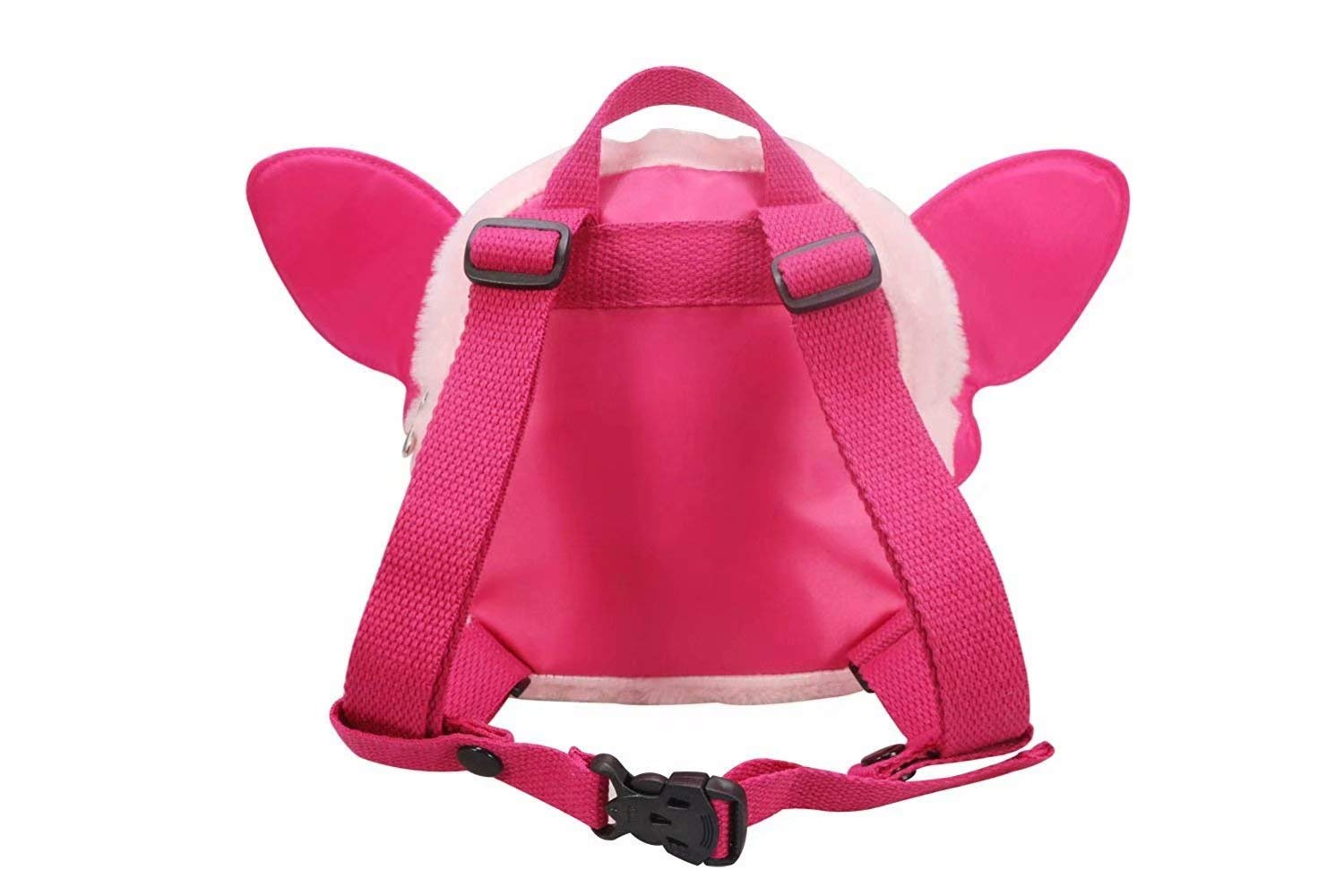 Oxford Pink OMALOO Baby Walking Safety Harness Reins Belt Kid Child Toddler Backpack Bag with Butterfly Pattern for 1-3 Years Girls