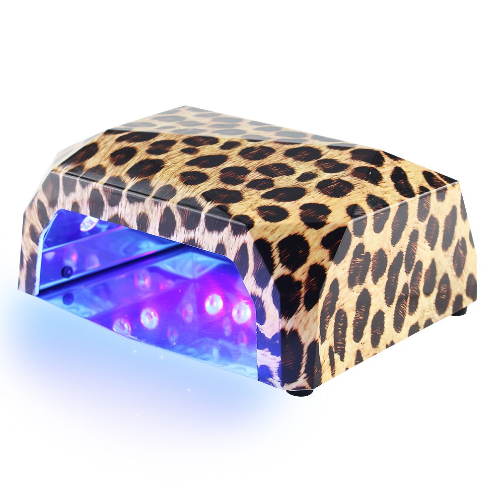Mini 9W LED Nail Lamp Portable USB Nail Dryer Curing Nail Art Tool in Travel Size (Purple) BLUETOP