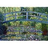 Claude Monet: Le Pont Japonais a Giverny. Fine Art Print/Poster. Size A3
