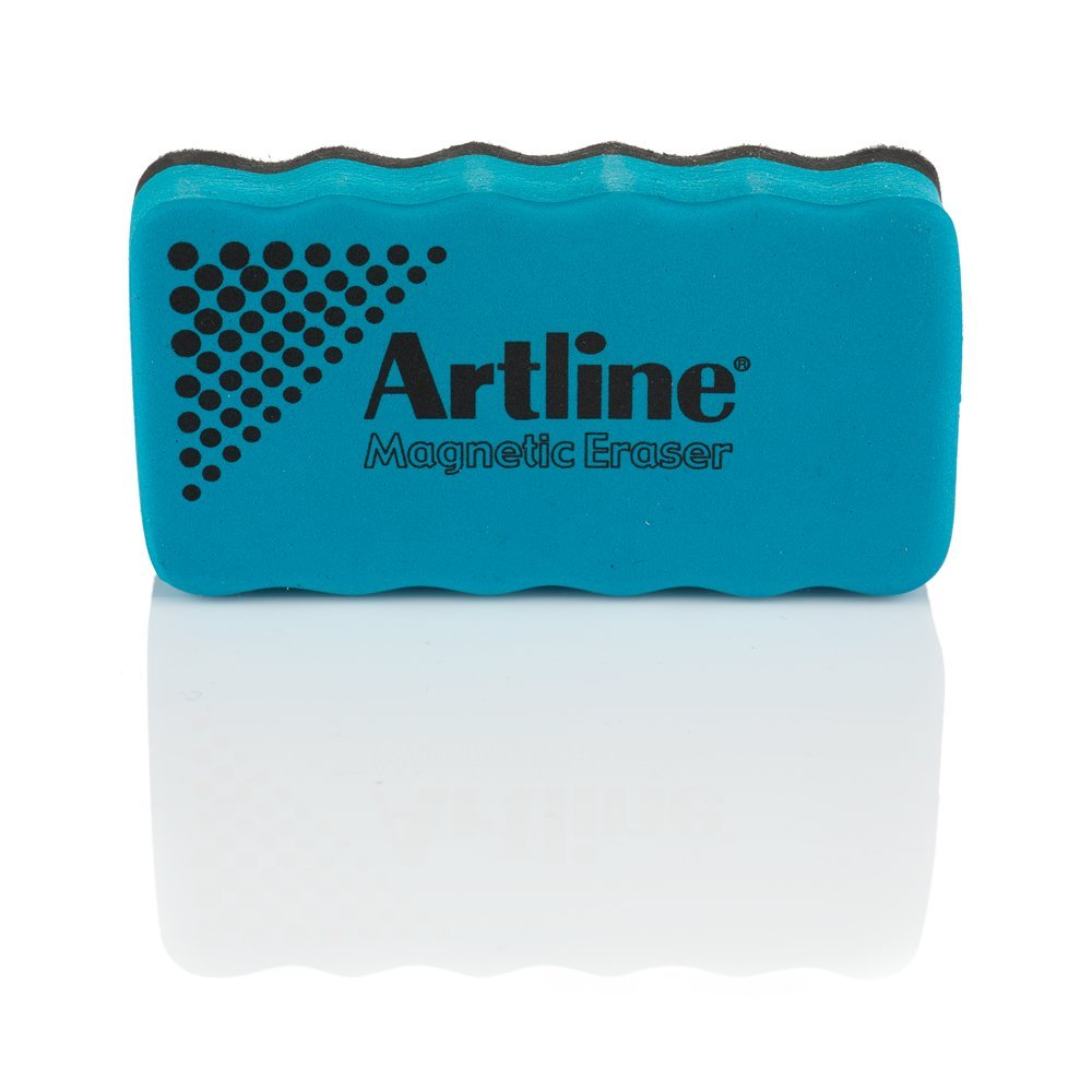 Red Artline Magnetic Whiteboard Eraser