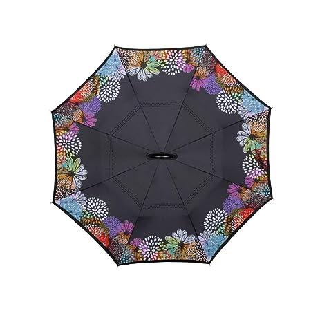 Manejar paraguas Paraguas inverso Paraguas largo Paraguas inverso ...